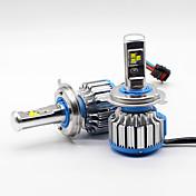필립 70w 7200lm 주도 안개 램프 헤드 라이트 키트 자동차 빔 전구 6000k 화이트 canbus