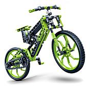 직소 퍼즐 DIY 키트 3D퍼즐 빌딩 블록 DIY 장난감 자전거 플라스틱