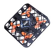 드론 RC 4CH 6 축 2.5G - RC항공기 리턴용 1 키 헤드레스 모드 360동 플립 비행 배터리 충전 알림 RC항공기 리모컨 드론용 배터리1개 블레이드4개 USB케이블 사용자 메뉴얼 스크루 드라이버 프로펠러 가드4개