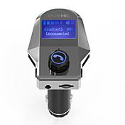 Coche M8S V3.0 Bluetooth Coche Kit Manos libres del coche Transmisores FM Puerto USB Reproductor MP3