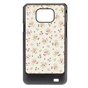 Blumen-Muster Hülle für das Samsung Galaxy S2 I9100