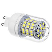 DAIWL G9 3.5W 60xSMD3528 300-320LM 6000-6500K Natural White Light LED Corn Bulb (110/220V)