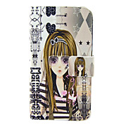 Sunglasses Girl Pattern Full Body Case for Samsung Galaxy S4 I9500