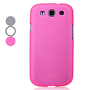 High-end Protective Hard Case for Samsung Galaxy S3 I9300 (Assorted Colors)