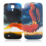 Fire Eagle Full Body Leather Case for Samsung Galaxy S4 I9500
