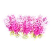 "4.5"" Plastic Plants Decorative Ornament for Aquarium Fish Tank (10 included)"
