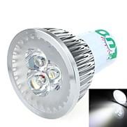 LOU GX5.3 3 W 3 SMD 270~300 LM Cool White Spot Lights AC 85-265 V