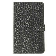 Diamond Grid Pattern PU Leather Face with PC Cover Full Body Case for Samsung Galaxy Tab PRO 8.4 T320