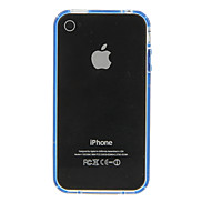 Dual Colored Protective Frame for iPhone 4/4S(Assorted Color)