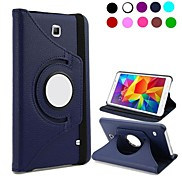 360 Degree Rotatable Leather Case for Samsung Galaxy Tab4 8.0 T330(Assorted Colors)