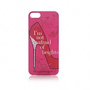 Sex and The City High Heel Glitter Design with Crystal Case for iPhone 5/5S