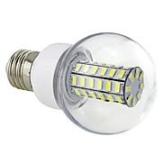 7W E26/E27 LED Corn Lights G60 56 SMD 5730 700 lm Cool White AC 220-240 V