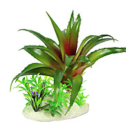 16cm Green Simulation Plants for Fish Tank Decoration