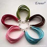 Eruner®Candy Color Eight-layer Leather Bracelet(Assorted Color)