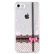 Case  for Apple iPhone 7 7 Plus Lace Printing Glitter Shine Pattern Flowing Liquid Hard  PC  6s Plus 6 plus 6s 6