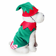 Dog Costume Dog Clothes Cosplay Halloween Solid Random Color