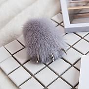 Bag / Phone / Keychain Charm Wolf Fur Ball Cartoon Toy Mink Fur