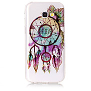 Case For Samsung Galaxy A5(2017) A3(2017) Phone Case TPU Material IMD Process Dreamcatcher Pattern HD Flash Powder Phone Case