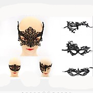 1Pcs Hot Sales Black Sexy Lady Lace Mask Eye Mask For Masquerade Party Fancy Dress Costume / Halloween Party Fancy