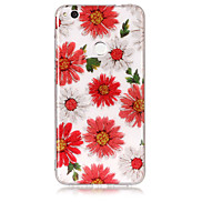 Case For Huawei P8 Lite (2017) P10 Lite Phone Case TPU Material IMD Process Flowers Pattern HD Flash Powder Phone Case P9 Lite P8 Lite