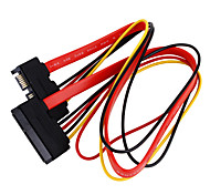 SATA 7+15P Data+Power Extension Cable (0.5M)