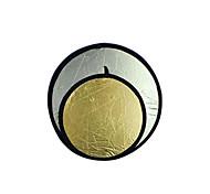"43 ""110cm Gold / Silber 2 in 1 Klapp-Disc-Reflektor (cca299)"