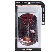 pegatina protectora de la piel fijada para Sony PSP (juego de 4 piezas)