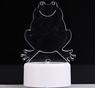 RGB Light LED Charming Drog Shaped Toy (3*AG13)