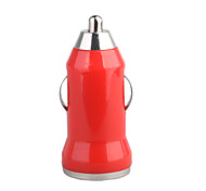 700mA Car Cigarette Powered USB Adapter/Charger (DC 12V/24V)-Red for iPhone 6 iPhone 6 Plus