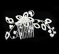 Women's/Flower Girl's Rhinestone/Alloy Headpiece - Wedding/Special Occasion/Casual Hair Combs/Flowers
