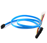 sas disco duro cable 29p a 1 SATA * 7p 70 cm de cable