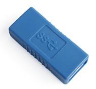 USB 3.0 AF to AF Adapter Blue