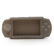 Silicone Skin Case for PSP3 Gray