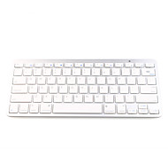 Ultra Slim Aluminum 79-Key Wireless Bluetooth QWERTY Keyboard