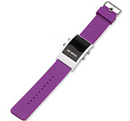 мягкие браслеты красочные LED Watch - фиолетовый