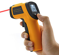 Non-Contact Infrared Thermometer with Laser Targeting and LCD Display, DIY Handy Tool