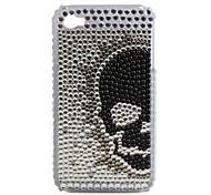 funda protectora de PVC con tapa joya para el iphone