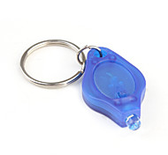 Key Chain Flashlights LED 1 Mode Lumens Super Light / Compact Size / Small Size Others CR2032 Everyday Use - Others , Blue Plastic