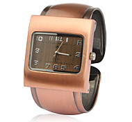 Stylish Bracelet Band Wrist Watch - Orange Bronzen