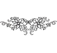 5 Pcs Flower Waterproof Temporary Tattoo(14m*4cm)