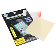 Crystal Clear LCD Screen Protector w/ Cleaning Cloth for Samsung S5830