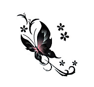 5 Pcs Butterfly Waterproof Temporary Tattoo(6cm*6cm)