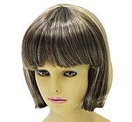 Capless Short High Quality Synthetic Straight Hair Wig