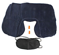 "Travel Sleeping Mask / Travel PillowForTravel Rest Plastic / Sponge 5.5""*3.74""*0.6""(14cm*9.5cm*1.5cm)"