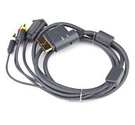 3RAV and VGA Cable for Xbox 360