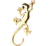 etiqueta engomada del coche delicado (big gecko cabeza)