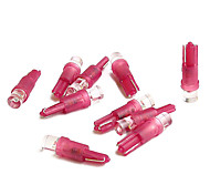 Red LED  Bulb (10 pcs Set,12V)