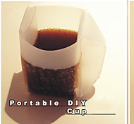 Portable Foldable Paper Cup (Assorted Colors)