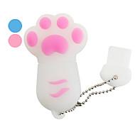 8gb Bear Paw style de lecteur flash USB (couleurs assorties)