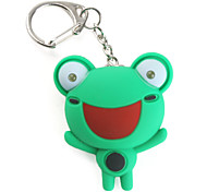 Frog Keychain with LED Flashlight and Sound Effects